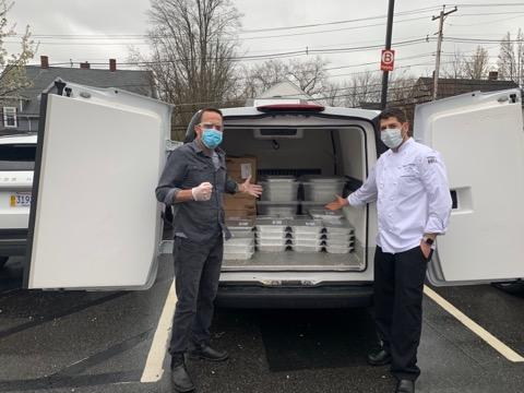 Clarke and Smith & Wollensky Partner to Provide Meals to Local Hospital Staffs